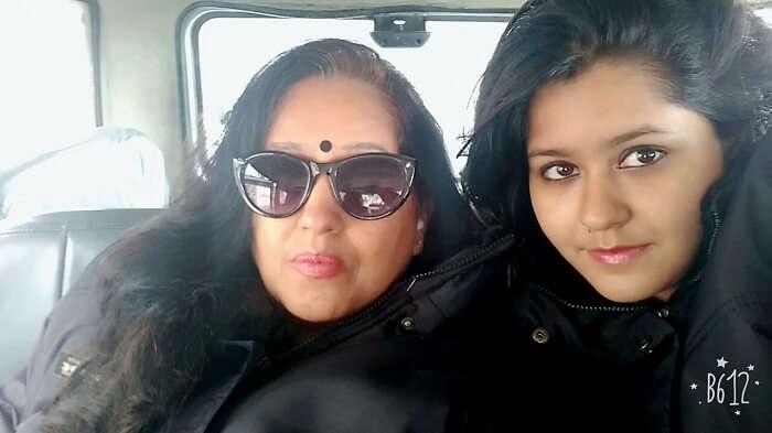 Family trip to Nathula Pass Sikkim