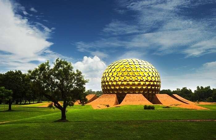 Auroville in pondicherry