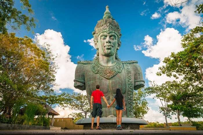 enjoy a honeymoon in Bali, among the best places for honeymoon in Asia in December