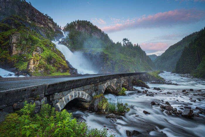 Odda Valley Bridge