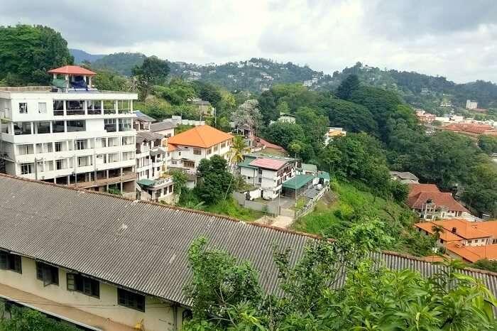 view in Nuwara Eliya
