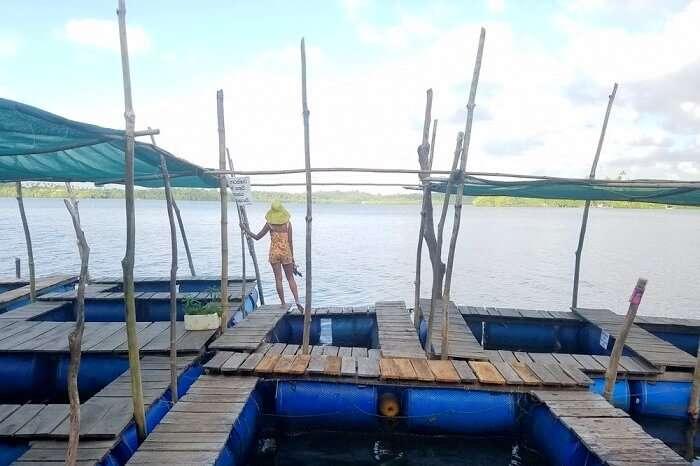 fishing village in Sri Lanka