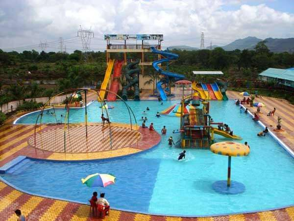 a waterpark inside a resort in Thane