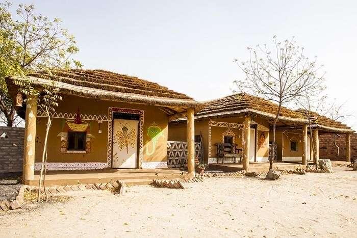 Bishnoi Village Camp and Resort tents