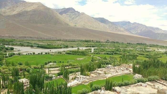 valley in ladakh