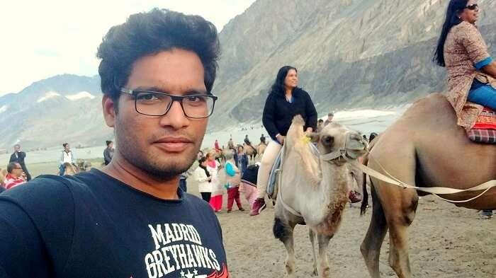 nubra valley camel ride