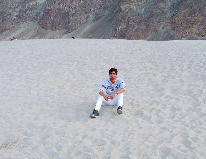 nubra valley desert