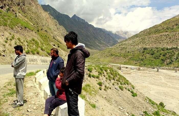 landscape in ladakh