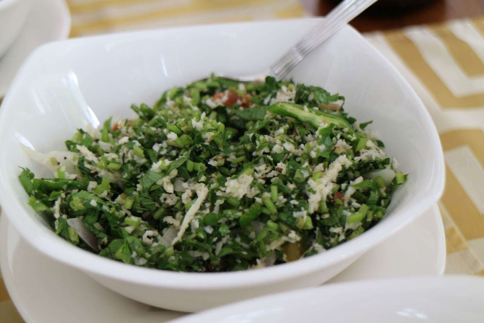 a delicious vegetarian dish of Sri Lanka