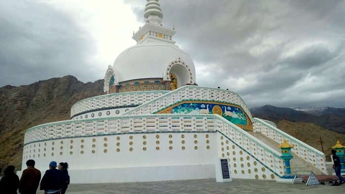 stupa in leh
