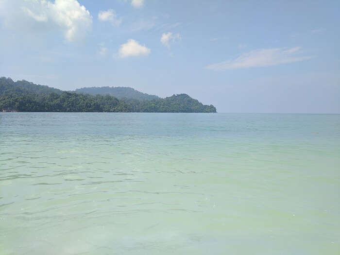beautiful beach in langkawi