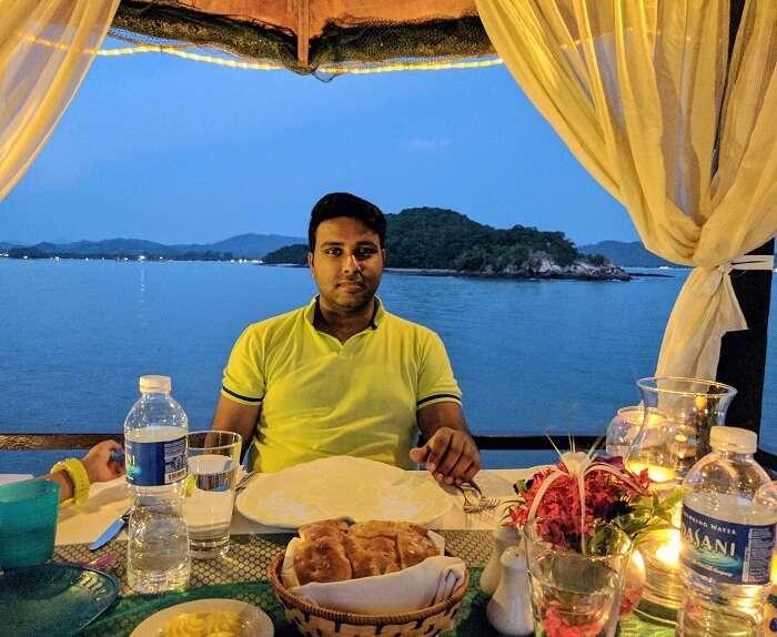 private beach dinner in langkawi