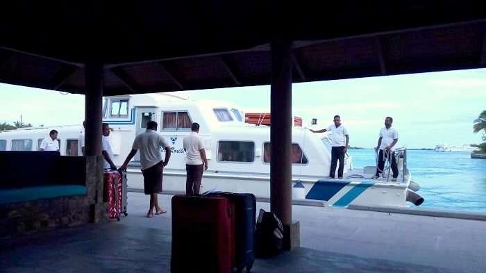 ferry in maldives