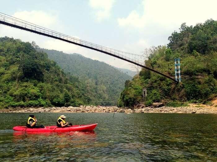 rafting in dawki