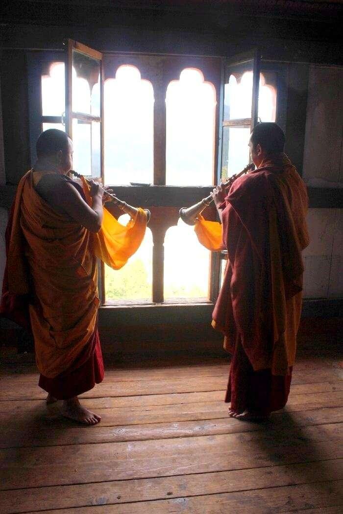 monks of jakar