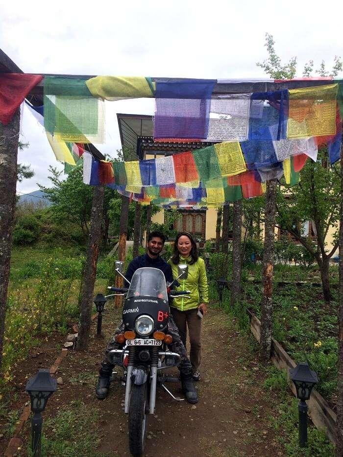 Nirvana lodge stay in paro