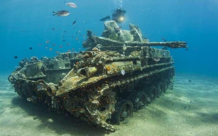 The Tank in Gulf of Aqaba