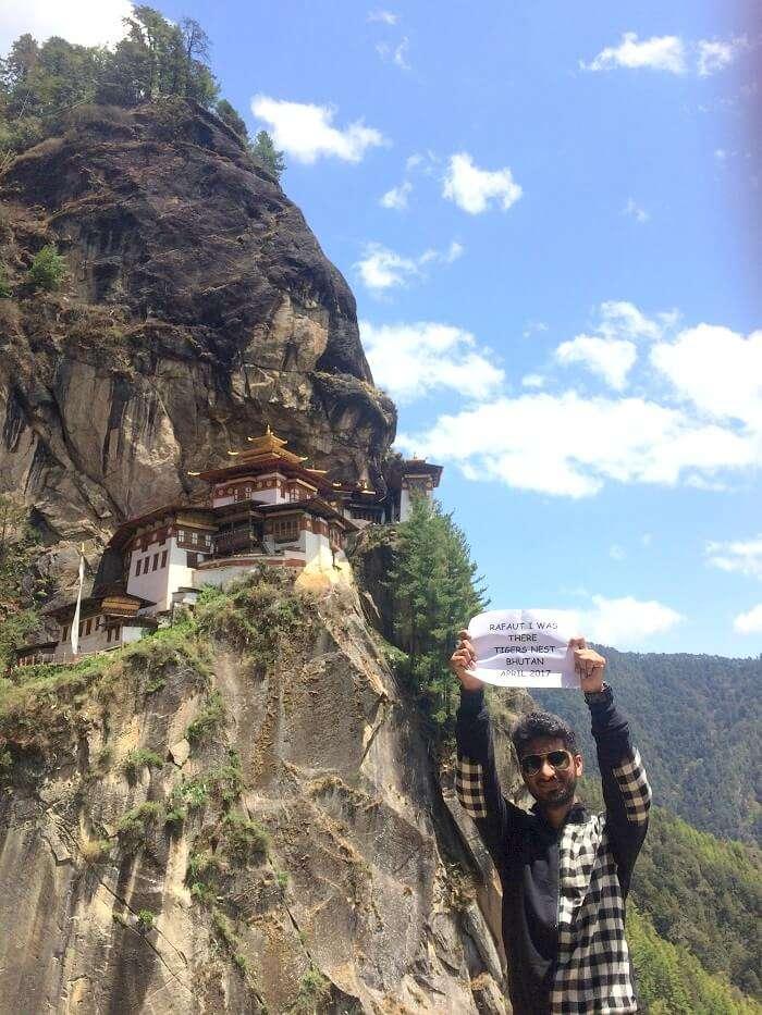 tigers nest trek bhutan