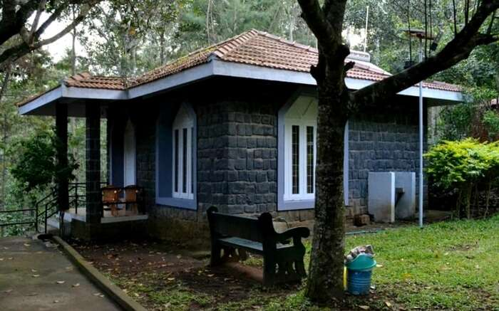 A view of a homestay in Yercaud