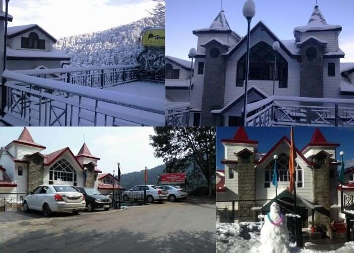 Scenes from the Deventure Hotel in Chail