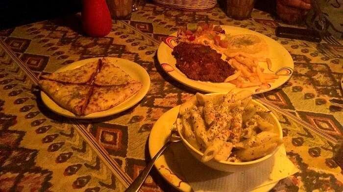 israeli food in kasol