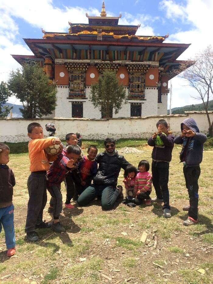 kids in ura valley