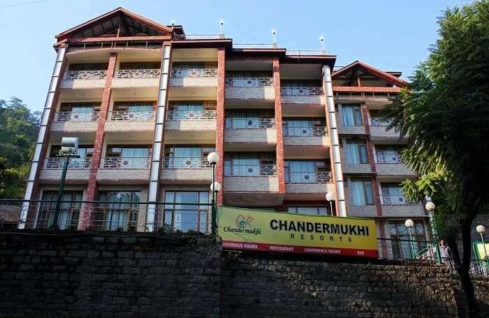 Chandermukhi Resort, Kasauli