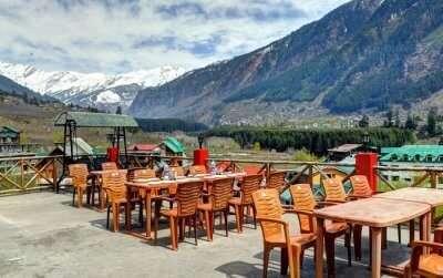 top restaurants in manali