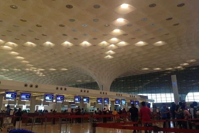 nirav at airport in bali