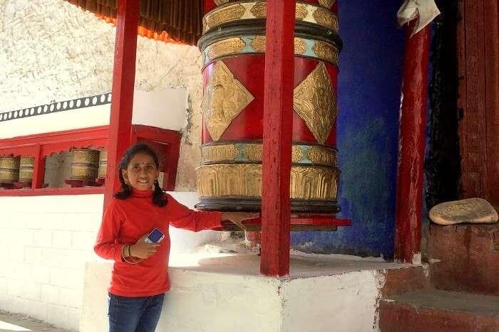 buddhism in leh
