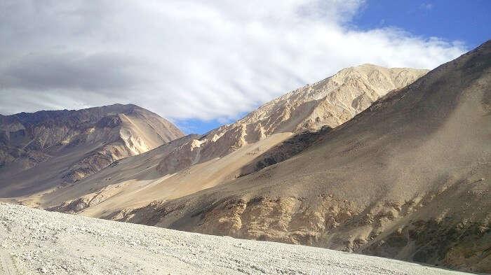 river sangam in ladakh