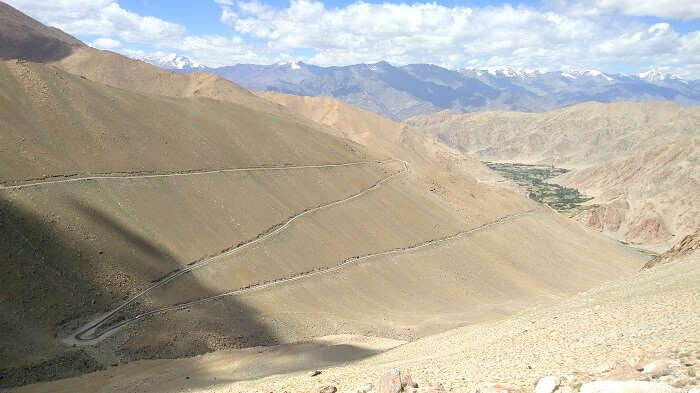 mountain pass in ladakh