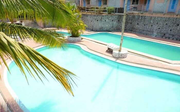 Pool in Elysium Spa Resort Alibaug