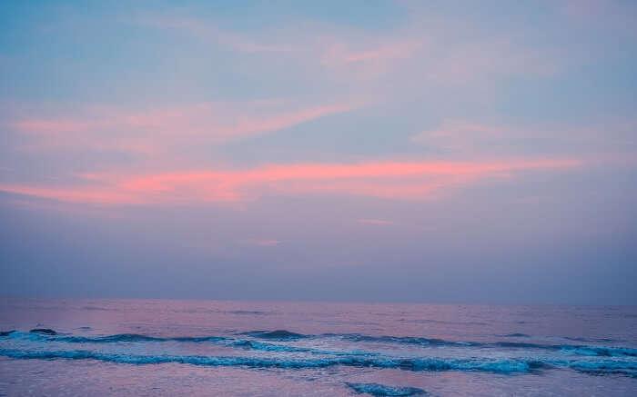 Sunset from Kashid Beach