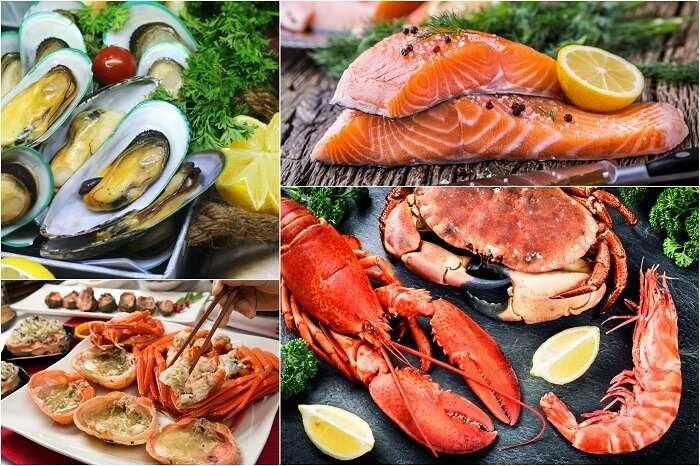 sample the local alaska cuisine on your alaska cruise tours