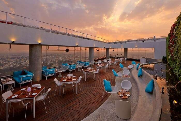 one of the best new year celebration ideas for couples is a romantic dinner date high ultra lounge in bangalore