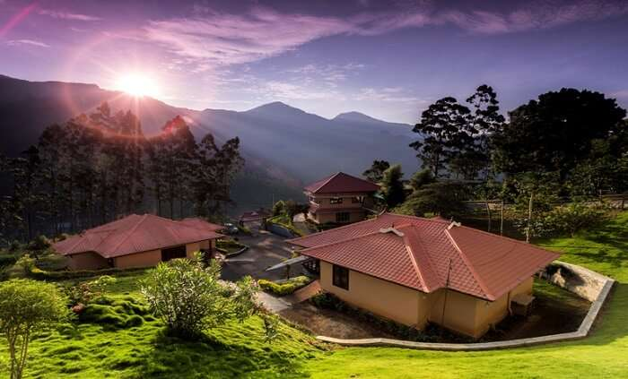 cottages in munnar
