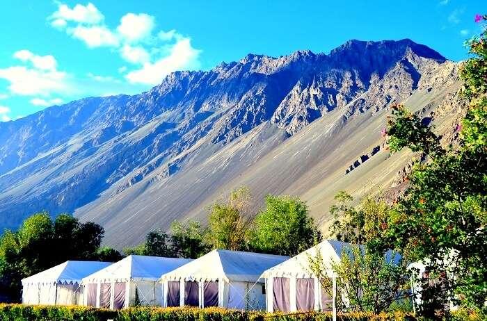 hunder camp site