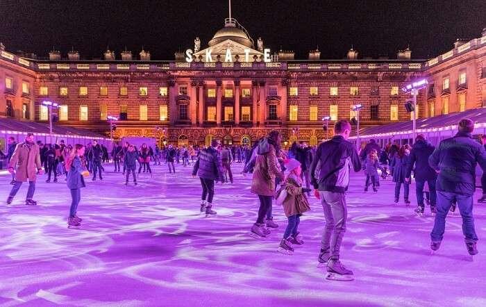 Ice Skating In London