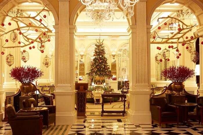 The Claridge's Hotel in London