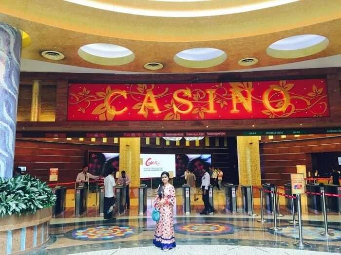 Casino visit