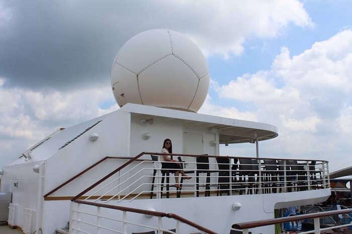 honeymoon at Singapore cruise