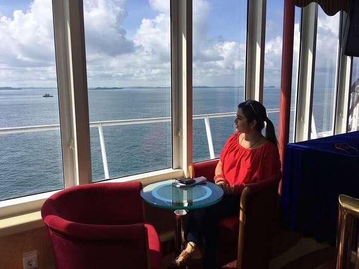 mesmerizing sea view