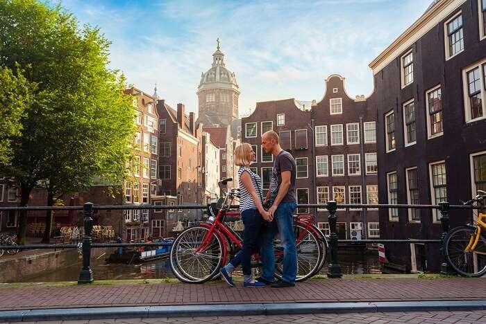 celebrate your honeymoon in Amsterdam