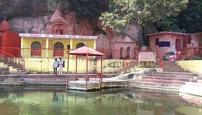 Bhimagoda Tank In Haridwar