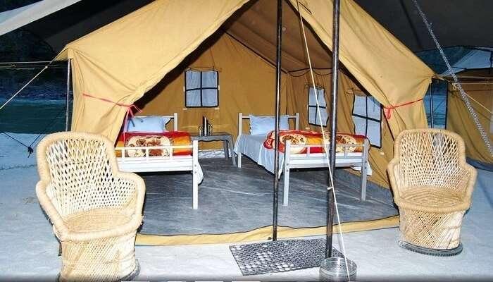 Rishikesh camps