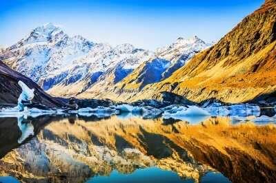 New Zealand in winter.