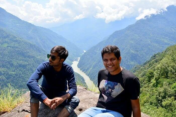 solo trip to Lachung