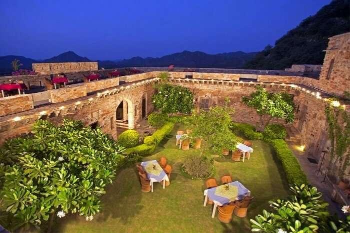 Dadhikar Fort in Sariska