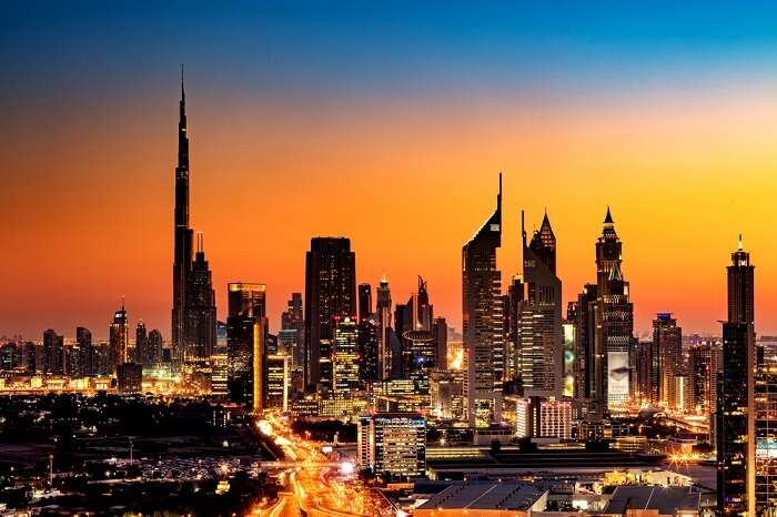 places to visit in Dubai at night